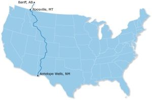 Great Divide Map